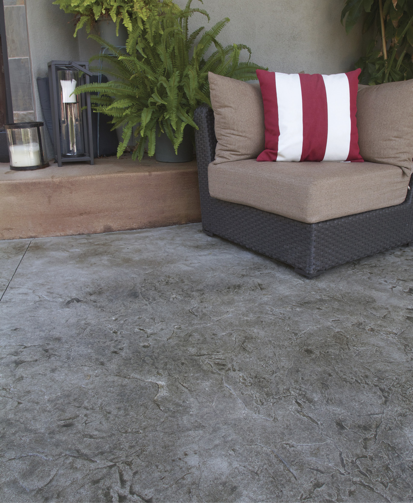 stamped concrete overlays easier to