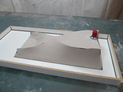 how to fabric form a concrete sink