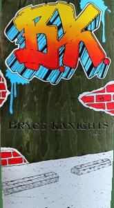 Lifeblood Skateboards Bryce Kanights Graffiti