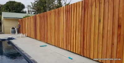 No Rot Fence Post perfect for pool fencing
