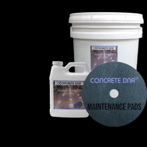 polished concrete maintenance products