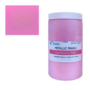 pink metallic pigment