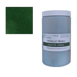 hunter green metallic pigment