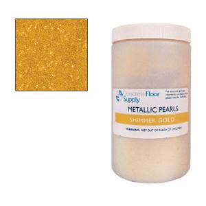 glitter gold metallic pigment