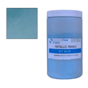 sky blue epoxy metallic pigment