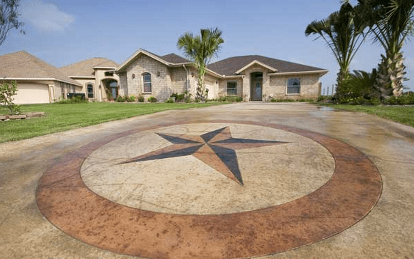 Outdoor Concrete Acid Stain