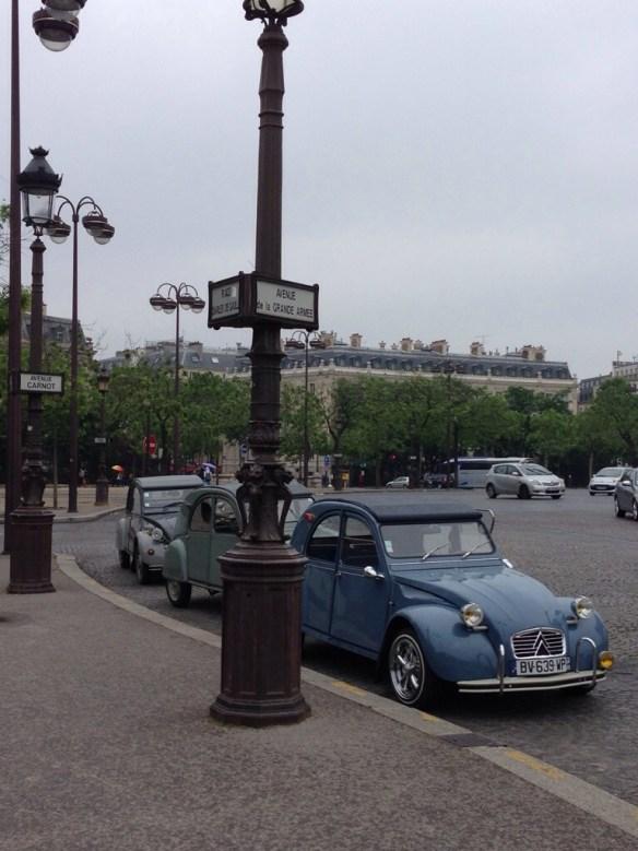 Ma 2 CV : Paris
