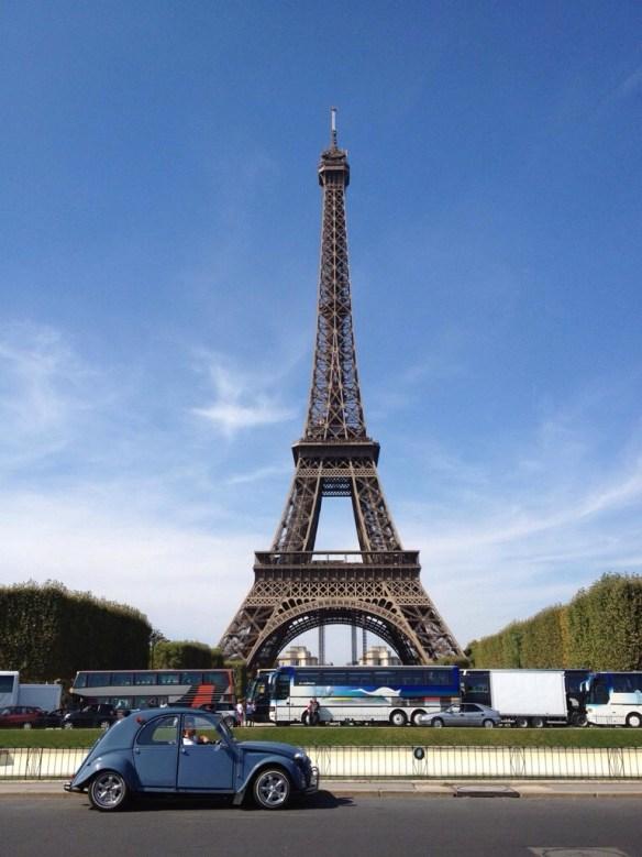 Ma 2 CV : Tour Eiffel