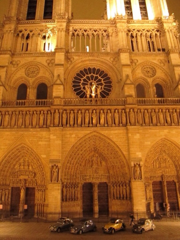 Ma 2 CV : Notre Dame
