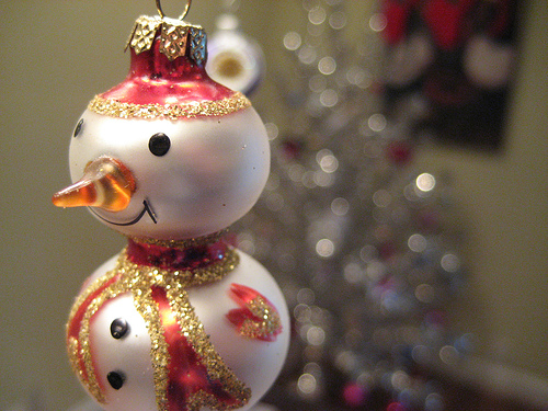 christmas ornament macro