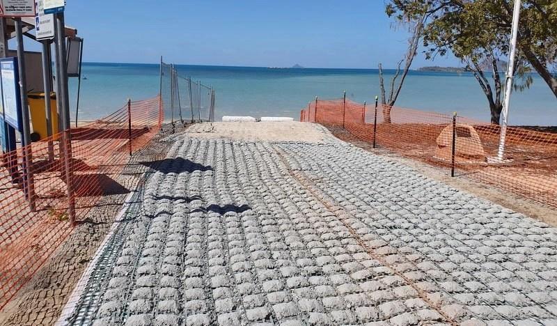 Temporary Boat Ramp at Dingo Beach QLD – 0103