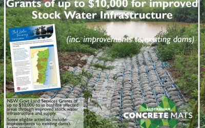 Funding for farmers improvements to stock water infrastructure