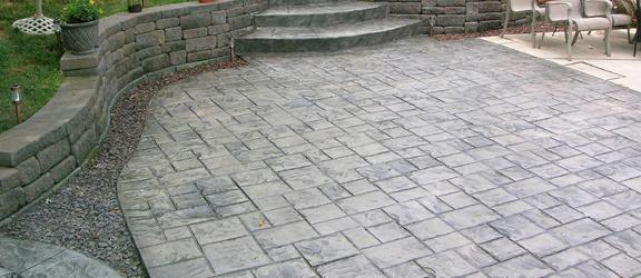 concrete patio austin