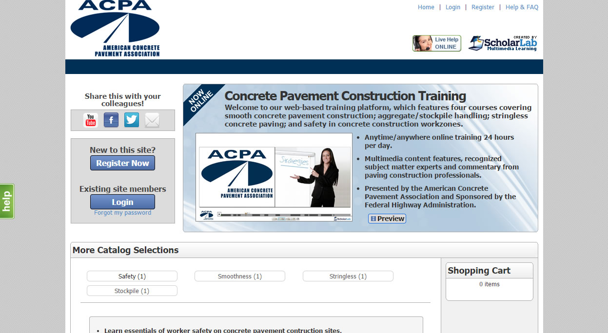 ACPA Launches Free On-Demand Training on Aggregate Handling and Building Smooth Concrete Pavements