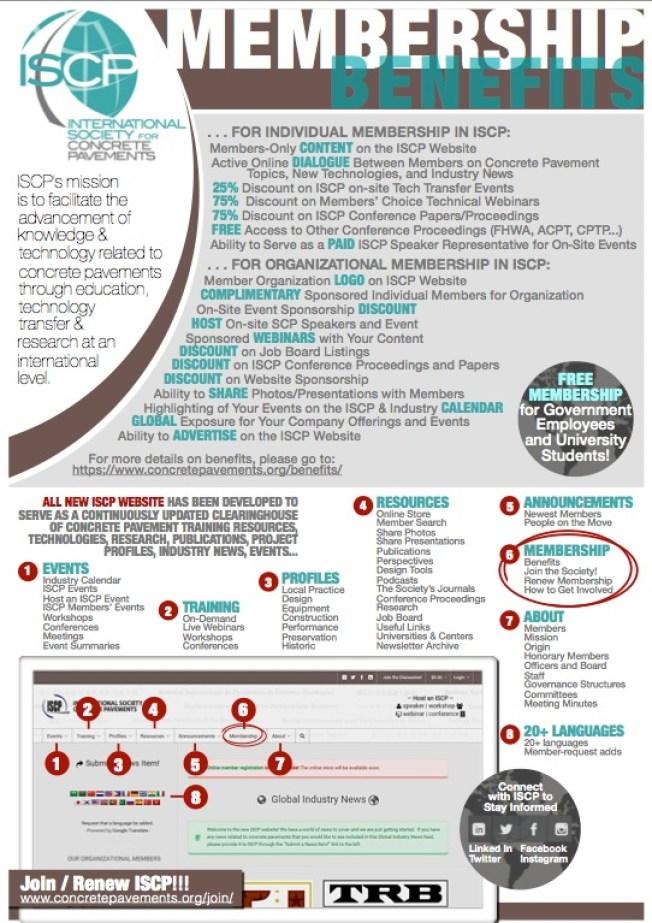 ISCP Member Flyer