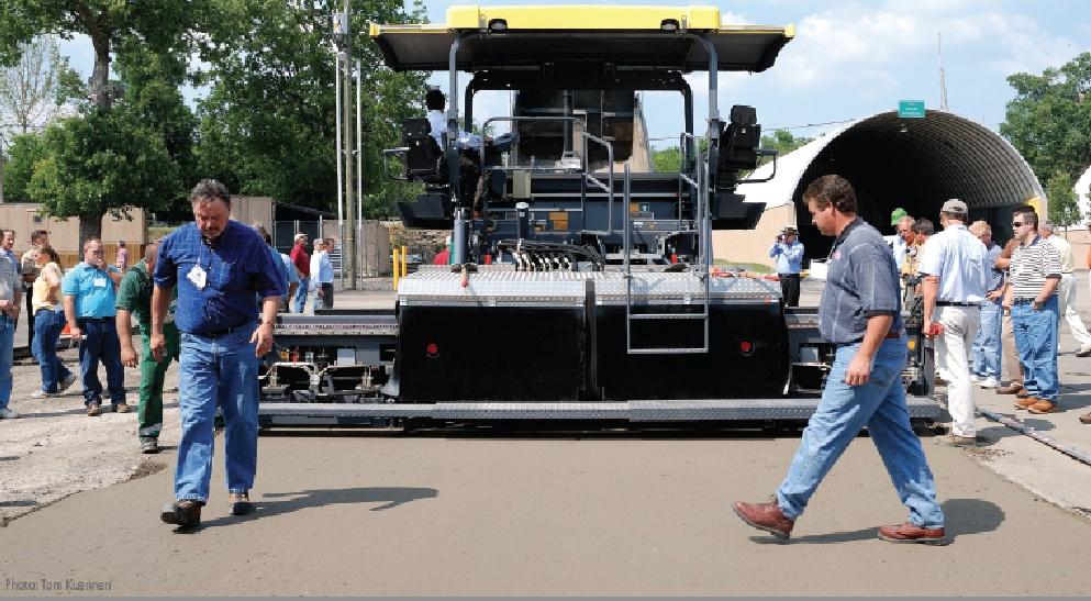 RCC Pavement Gaining Momentum Among Contractors & Road Agencies—Placement, Quick-Set Advantages, & Strength