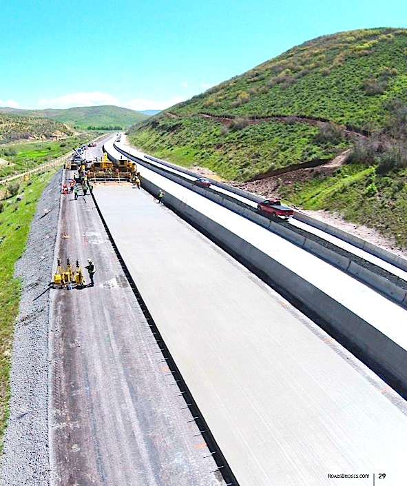 USA: Utah DOT Designs 40-Year Sustainable Concrete Pavement for High-Elevation Highway With Fly Ash