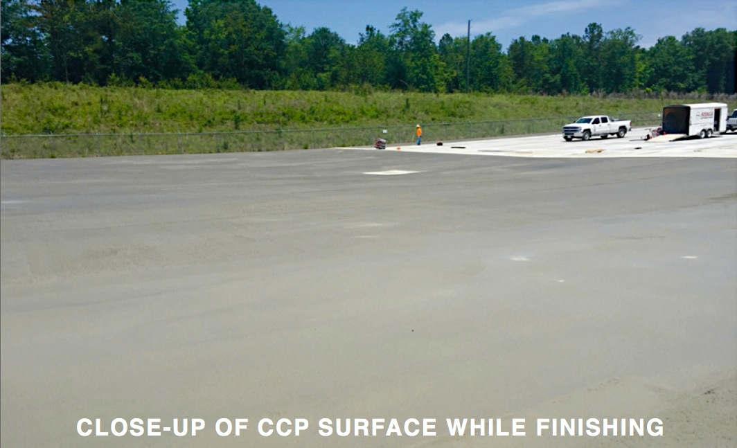 New Paving Technology: CCP—RCC Benefits with Traditional Concrete Appearance