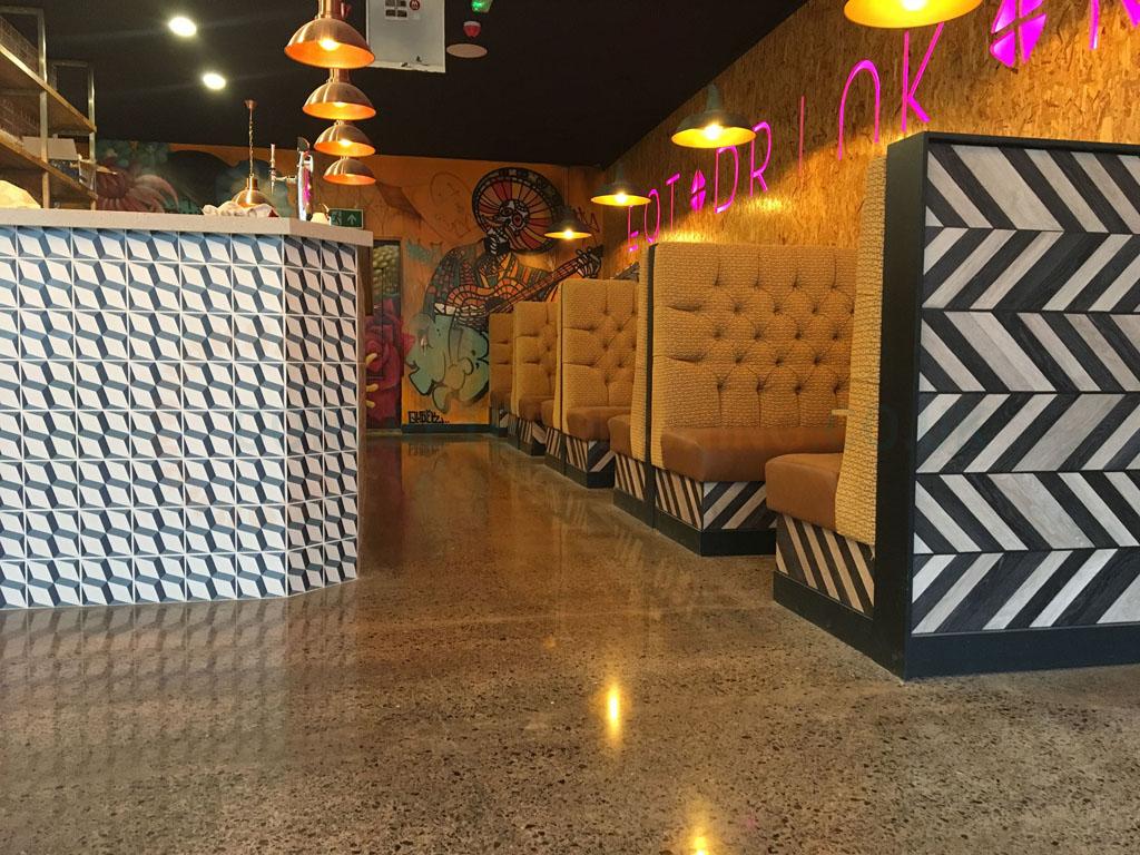 Polished Concrete Floor Restaurant Liverpool