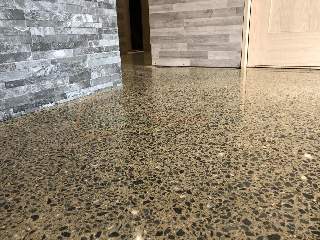 Polished Concrete Holiday Home