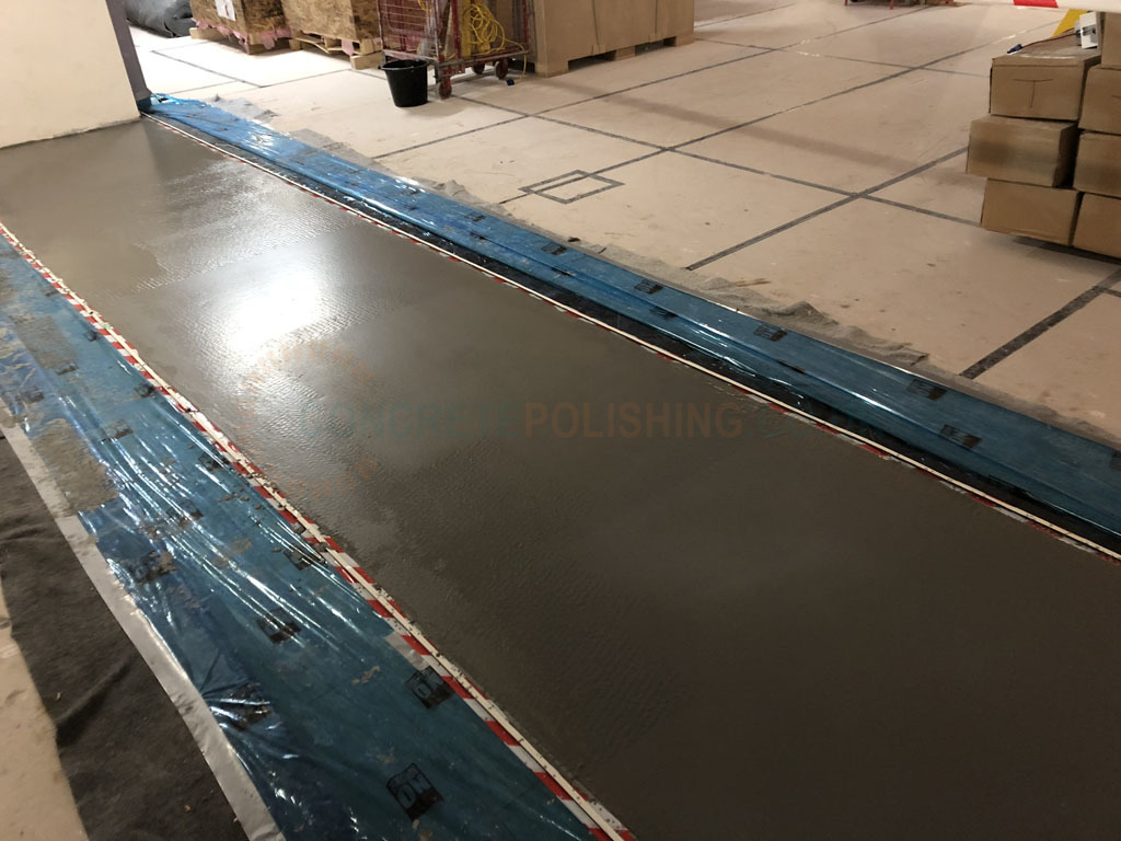 Shop Glasgow Polished Concrete Overlay Floor