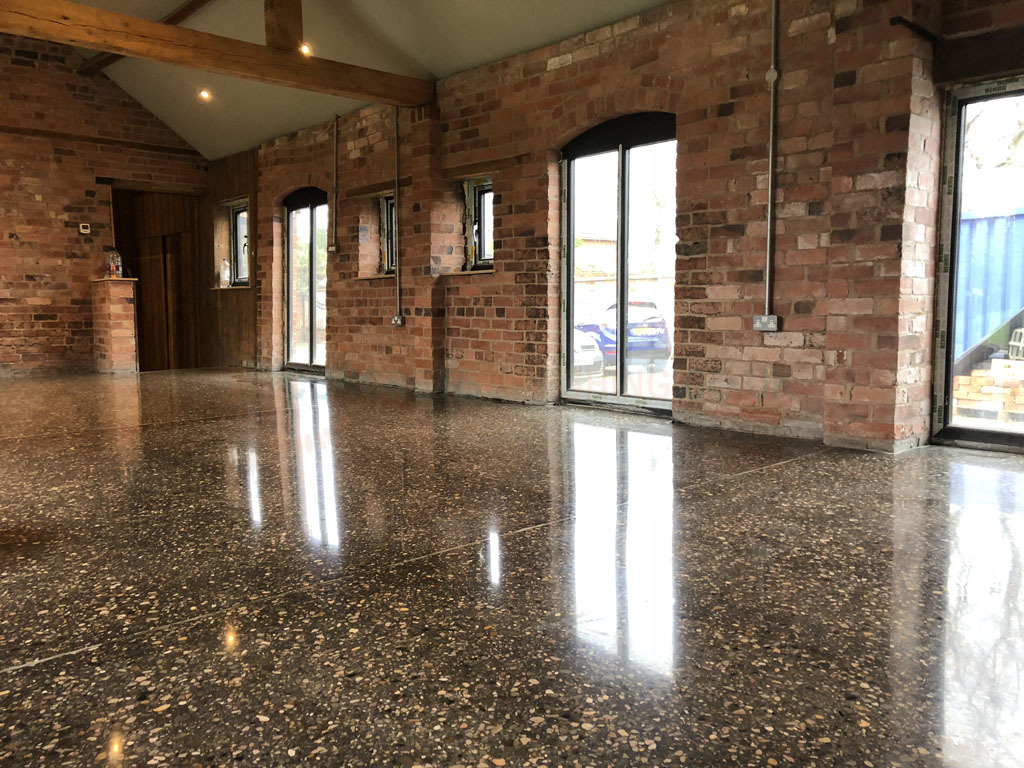 Polished Concrete Lounge Shrewsbury