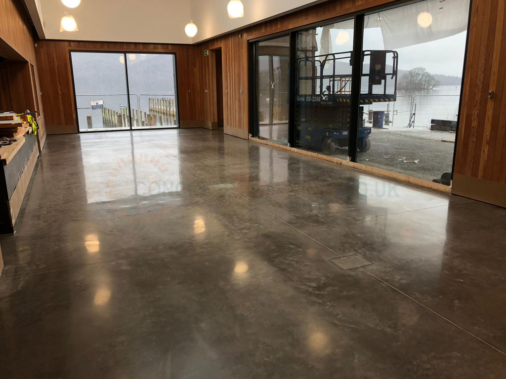 Lake District Boat Museum Floor