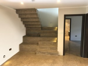 Concrete Polishing Stairs
