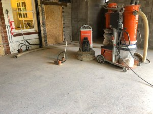 polished concrete shropshire residential