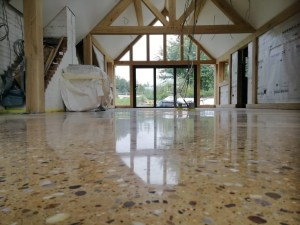 polished concrete residential