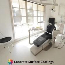 dental practice floor coating