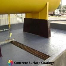 epoxy industrial floor coatings around chemical storage