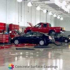 Automotive Workshop Flooring