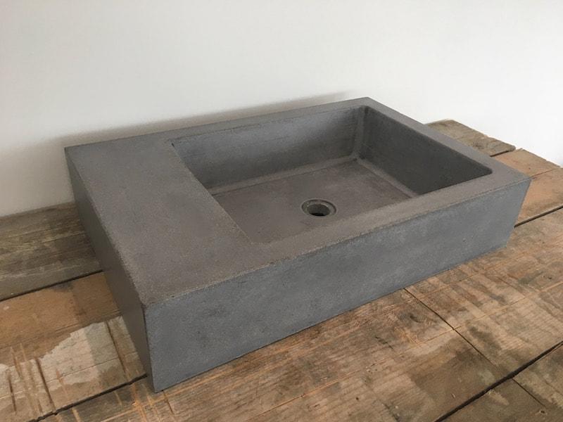 polished concrete sinks concrete