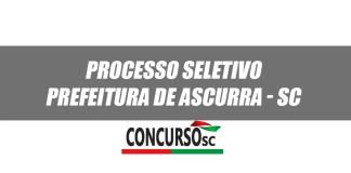 Prefeitura de Ascurra - SC anuncia Processo Seletivo na área da educação