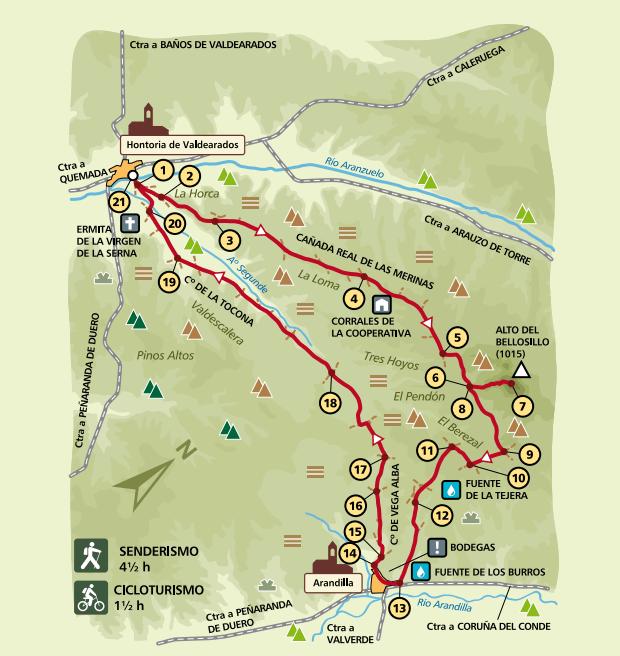 Mapa PRC-BU-164