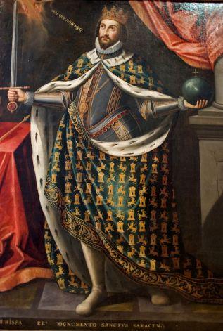 retrato de Fernando III el Santo