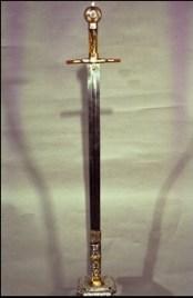 Espada lobera de Fernando III en Sevilla