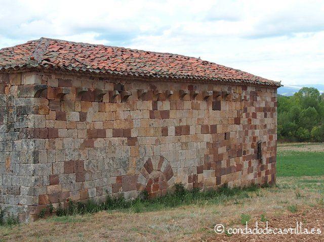Fachada sur de San Juan Bautista de Barbadillo del Mercado