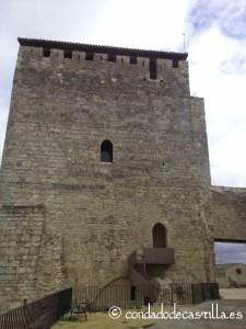 Torre del homenaje castillo de Haza