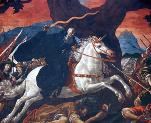 San Millán en la Batalla de Hacinas