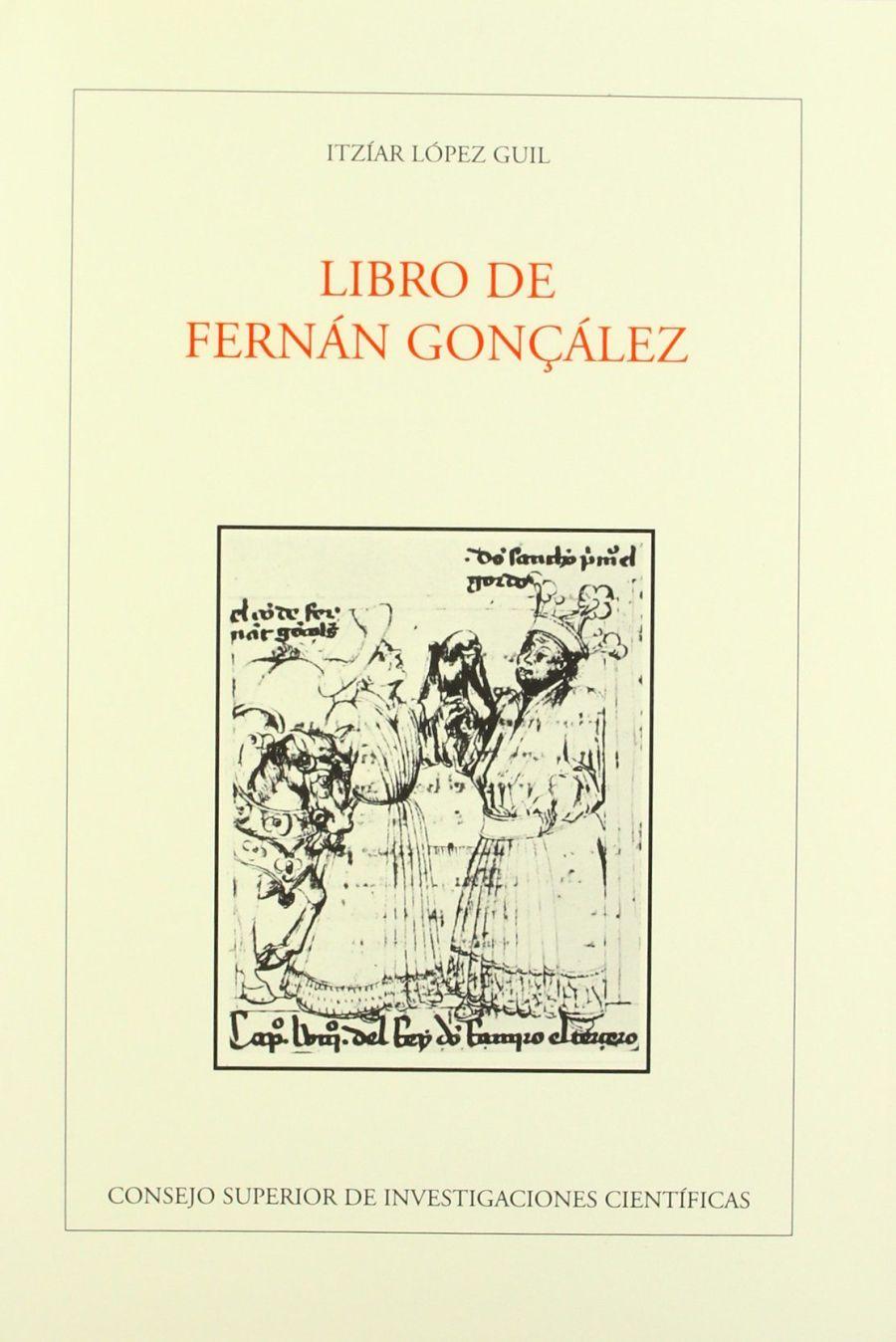 Libro de Fernán Gonçález Book Cover
