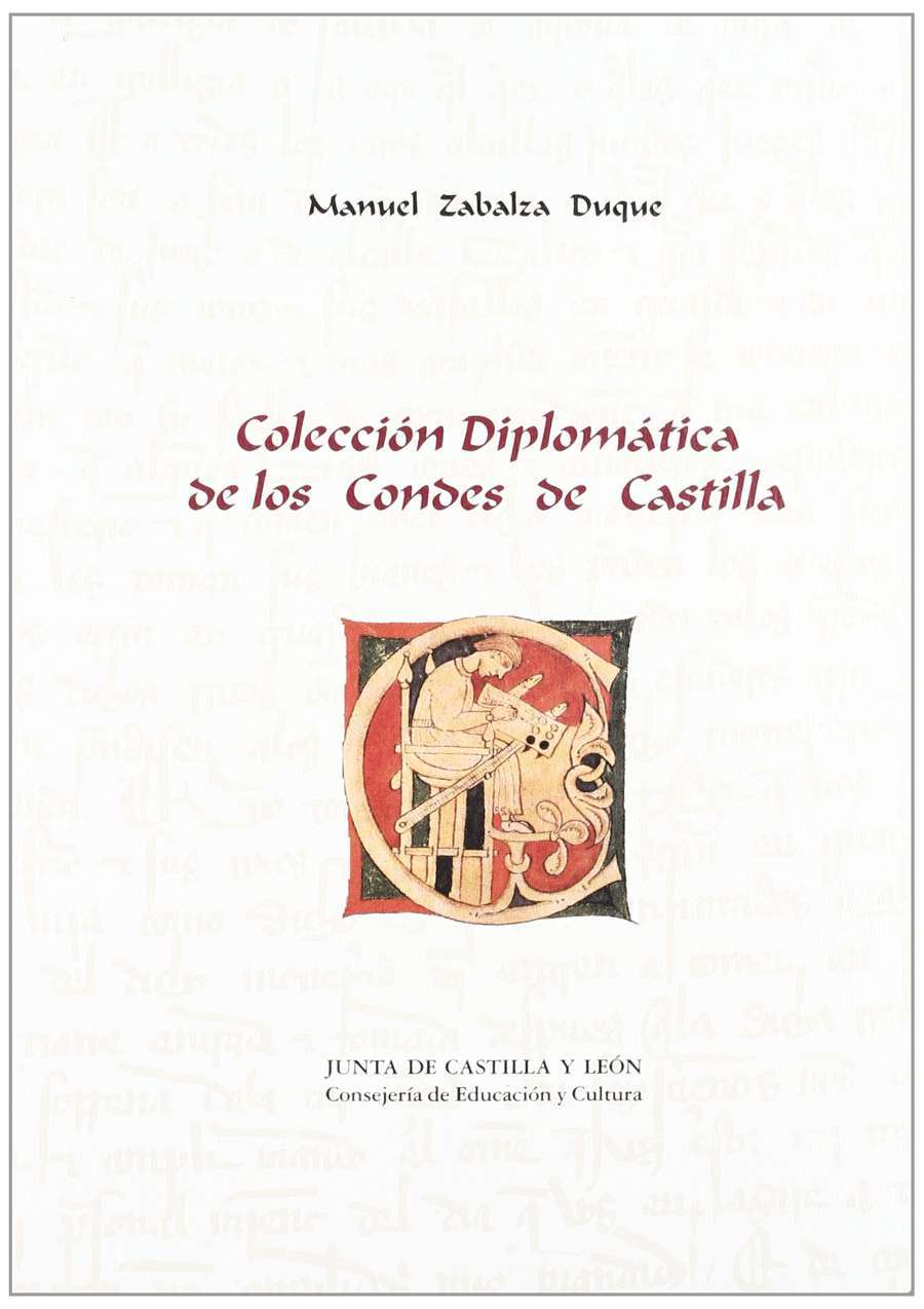 Colección diplomática de los condes de Castilla Book Cover