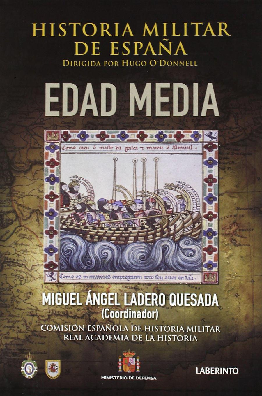 Historia Militar de España: Edad Media Book Cover