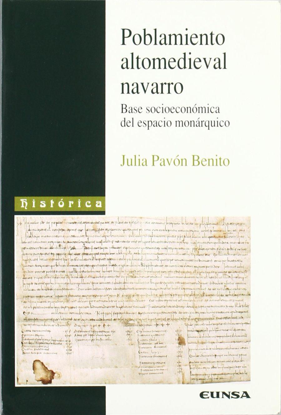Poblamiento altomedieval navarro Book Cover