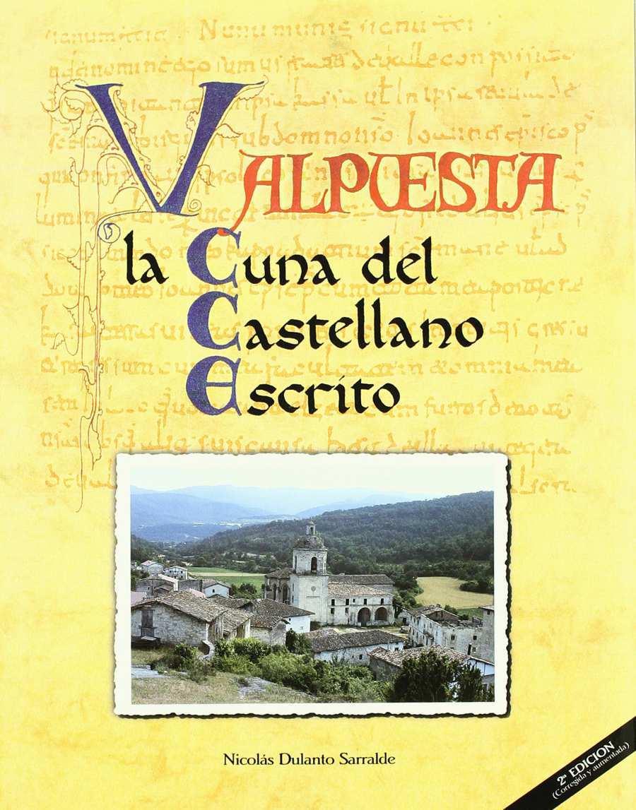 Valpuesta la cuna del castellano escrito. Book Cover