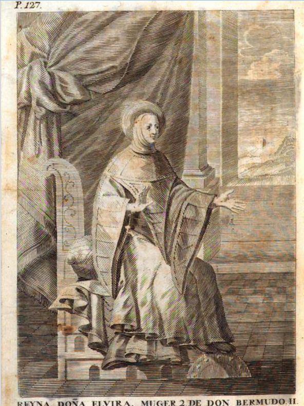 Elvira García en el Libro Gótico de Donaciones de la catedral de Oviedo