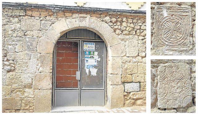 Estelas visigodas San Esteban de Gormaz (Soria)