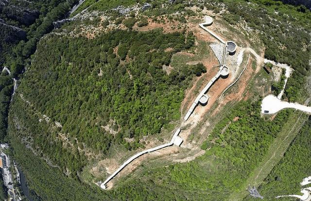 Fortaleza de Tedeja - Imagen aérea