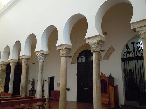 Interior de la mezquita de El Salvador (Toledo)